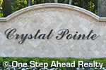 sign for Crystal Pointe