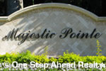 sign for Majestic Pointe