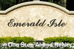 sign for Emerald Isle