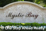 sign for Mystic Bay