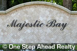 sign for Majestic Bay