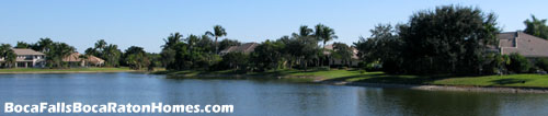 Make Boca Falls in Boca Raton, FL your new home, and you could enjoy a view like this from your patio.
