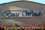 Boca Winds community sign